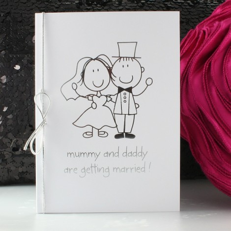 Mummy and Daddy Silver Wedding Invite