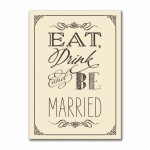 Eat Drink and Be Married Front