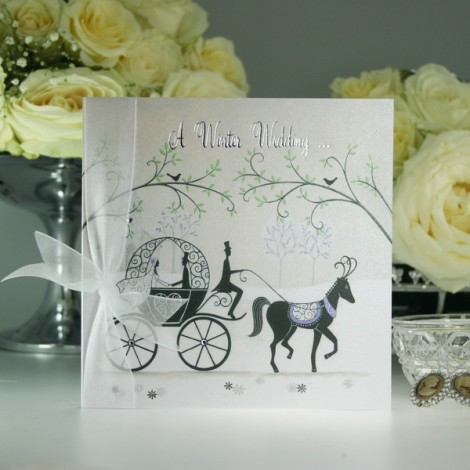 Fairytale Wedding Invitation from Olivia Samuel