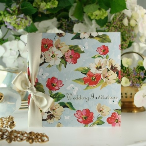 Spring Blossom Wedding Invitation