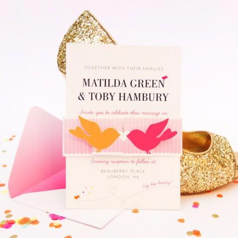 Cute as Candy Wedding Invitation