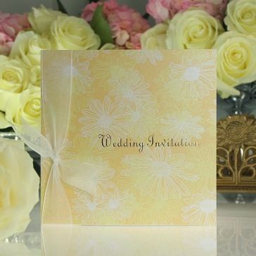 Daisy Daisy Wedding Invitation