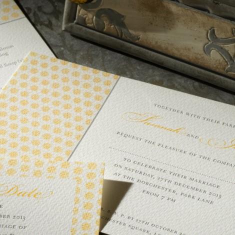Drayton Wedding Invitation