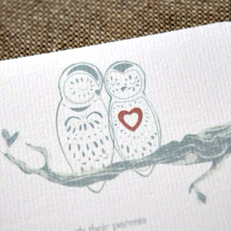 Owl Always Love You Wedding Invitation