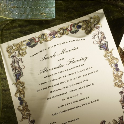 Richmond Wedding Invitation