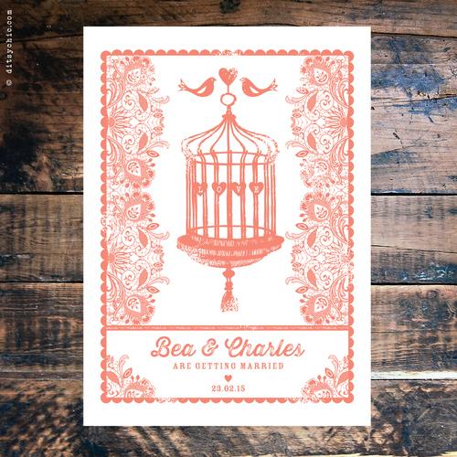 Wedding Invitations Birdcage: Wedding Invitation Gallery