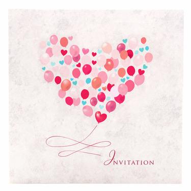 Follow Your Heart Wedding Invitation