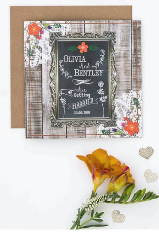 Barn Dance Wedding Invite