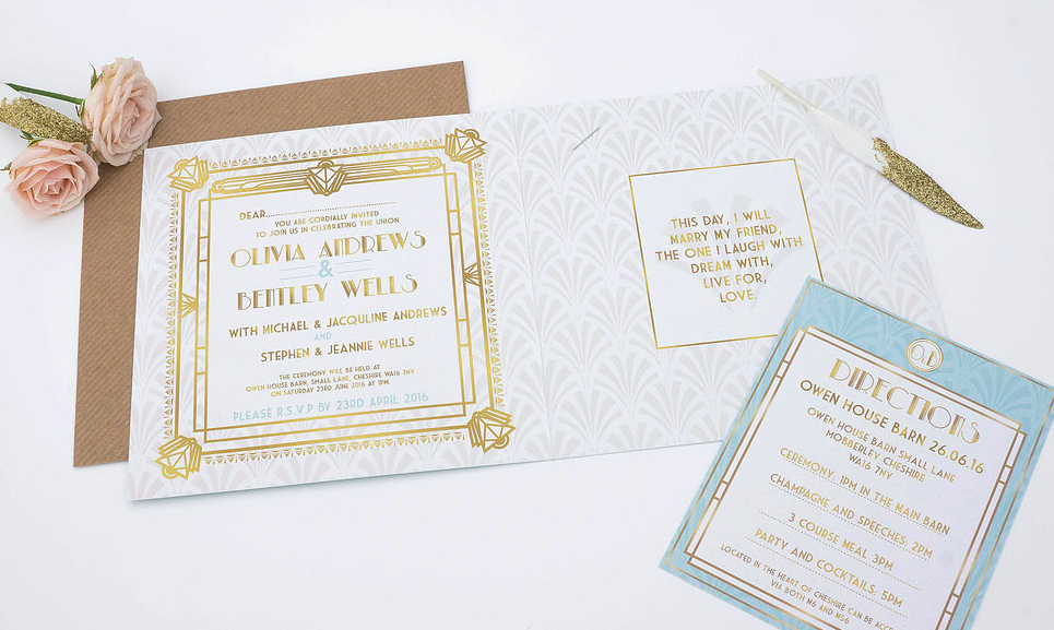 Long Time Ago Wedding Invite
