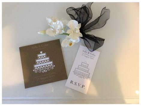 Wedding Cake Invite