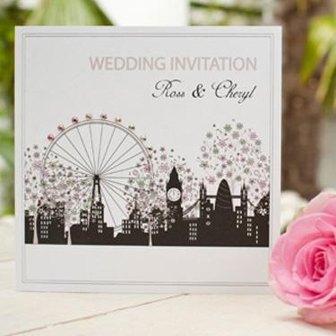 Park Lane Wedding Invitation from Five Dollar Shake