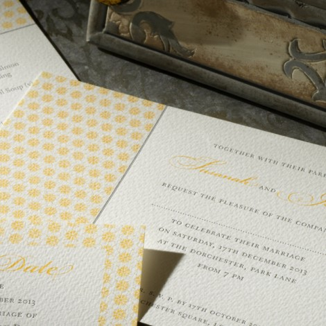 Drayton Wedding Invitation