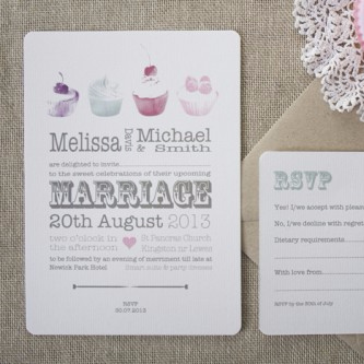 Love is Sweet Wedding Invitation