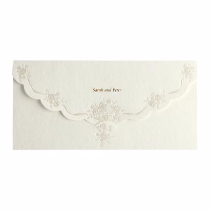 Pearls Day Wedding Invite