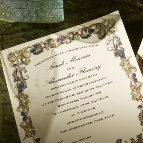 Richmond Wedding Invitation