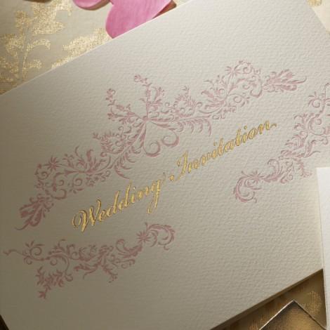Rococo Wedding Invitation