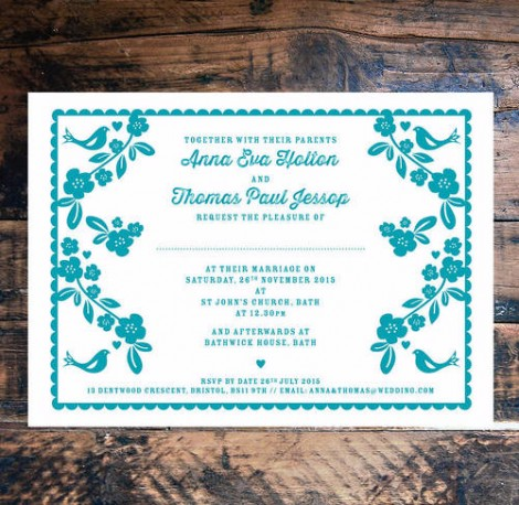 Forever my Love wedding Invitation