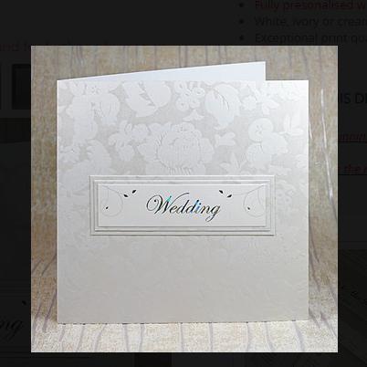 Isabella Wallet Wedding Invitation
