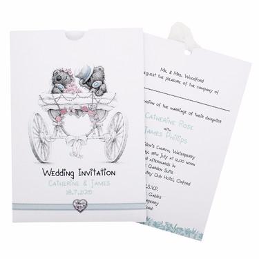 Me to You Wedding Invitation