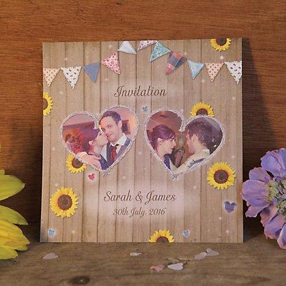 Sunflower Wedding Invite